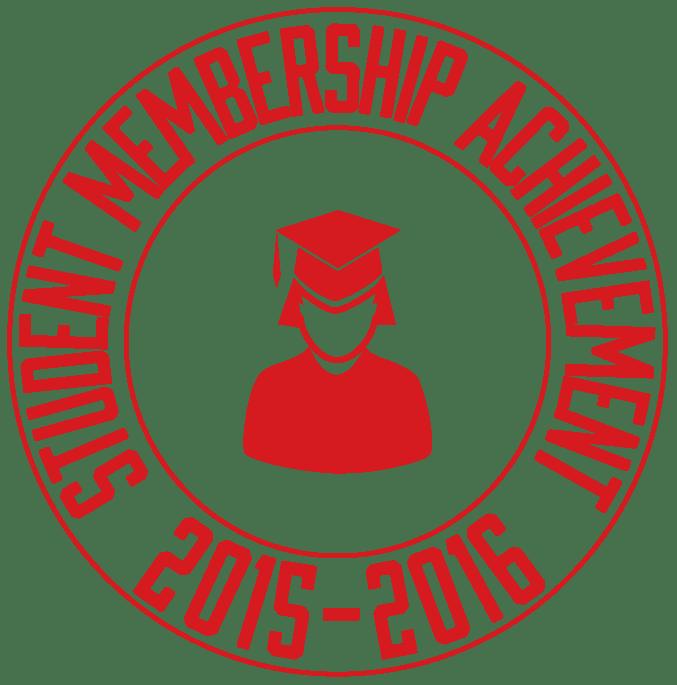 Student Membership Acheivement Award 2015-2016-01