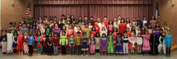 Around the World at Bear Creek Elementary