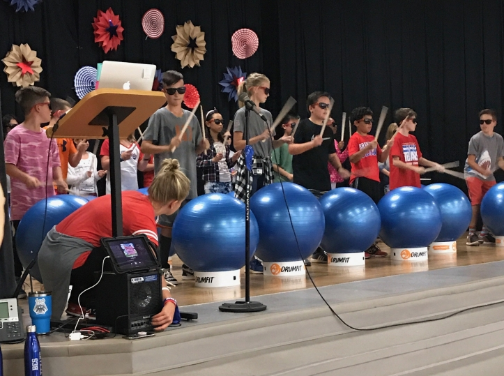 DrumFit at Bransford Elementary