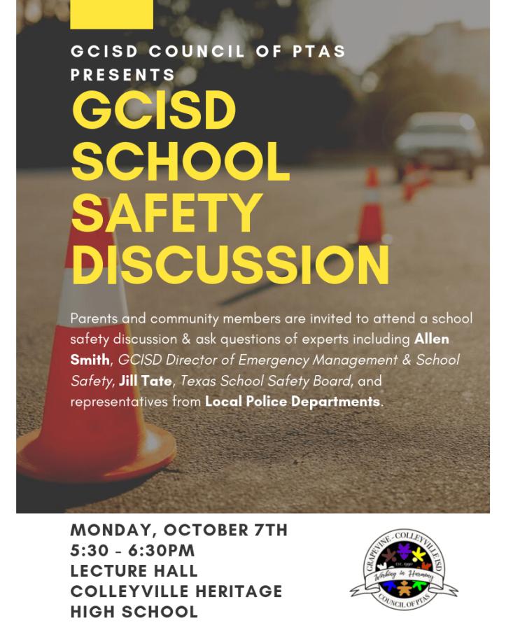 GCISD School Safety Panel png